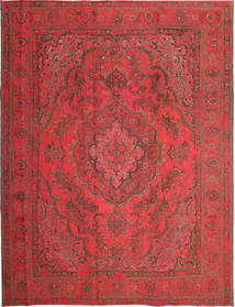 Colored Vintage Rug 245X315 Authentic  Modern Handknotted Dark Red/Crimson Red (Wool, Persia/Iran)