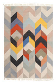 Reflection Rug 160X230 Authentic  Modern Handwoven Light Grey/Beige (Wool, India)