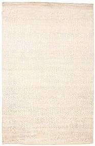 Damask Rug 169X258 Authentic  Modern Handknotted Beige/Yellow ( India)
