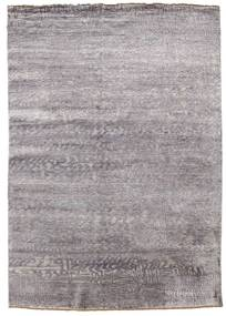 Damask Rug 171X245 Authentic  Modern Handknotted Light Grey/Light Purple ( India)