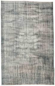 Colored Vintage Rug 186X290 Authentic  Modern Handknotted Light Grey/Dark Grey (Wool, Turkey)