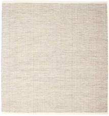 Seaby - Brown Rug 250X250 Authentic Modern Handwoven Square Light Grey/Beige Large (Wool, India)