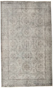 Colored Vintage Rug 182X301 Authentic  Modern Handknotted Light Grey (Wool, Turkey)
