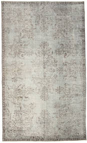 Colored Vintage Rug 182X301 Authentic  Modern Handknotted Light Grey/Dark Beige (Wool, Turkey)