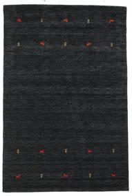 Gabbeh Loom Two Lines - Black/Grey Rug 190X290 Modern Black (Wool, India)