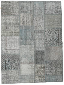 Patchwork Rug 171X230 Authentic  Modern Handknotted Light Green/Dark Green (Wool, Turkey)