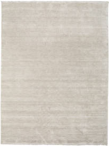 Handloom Fringes - Greige Rug 250X350 Modern Light Grey Large (Wool, India)