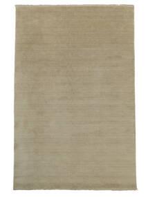 Handloom Fringes - Greige Rug 300X400 Modern Light Grey Large (Wool, India)