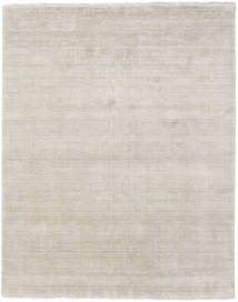Handloom Fringes - Greige Rug 200X250 Modern Light Grey (Wool, India)