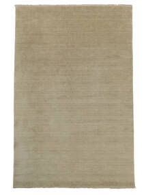 Handloom Fringes - Greige Rug 160X230 Modern Light Grey (Wool, India)