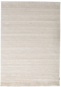 Bamboo Silk Loom - Beige Rug 160X230 Modern Light Grey ( India)