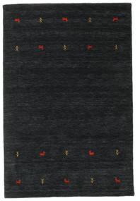 Gabbeh Loom Two Lines - Black/Grey Rug 140X200 Modern Black (Wool, India)