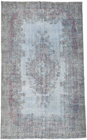 Colored Vintage Rug 182X297 Authentic  Modern Handknotted Light Blue/Light Grey (Wool, Turkey)