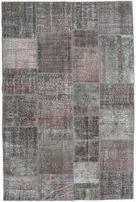 Patchwork Rug 197X300 Authentic  Modern Handknotted Light Grey/Dark Grey (Wool, Turkey)