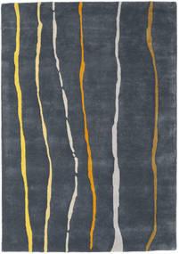 Flaws Handtufted - Grey Rug 140X200 Modern Dark Grey/Dark Blue (Wool, India)