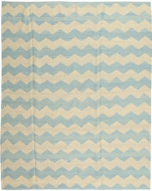 Kilim Modern Rug 190X234 Authentic  Modern Handknotted Yellow/Turquoise Blue (Wool, Afghanistan)