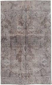 Colored Vintage Rug 131X215 Authentic Modern Handknotted Light Grey/Dark Grey (Wool, Pakistan)