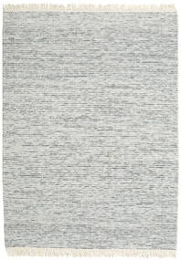Medium Drop - Grey Mix Rug 210X290 Authentic  Modern Handwoven Light Grey/Turquoise Blue (Wool, India)