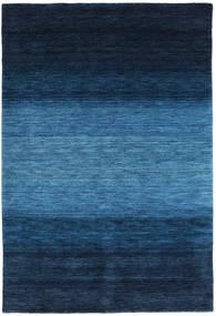Gabbeh Rainbow - Blue Rug 160X230 Modern Dark Blue/Blue (Wool, India)