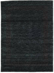 Handloom Gabba - Black/Grey Rug 140X200 Modern Black (Wool, India)