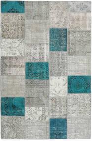 Patchwork Rug 197X301 Authentic  Modern Handknotted Light Grey (Wool, Turkey)