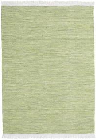 Diamond Wool - Green Rug 140X200 Authentic  Modern Handwoven Light Green (Wool, India)