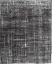 Colored Vintage Rug 285X362 Authentic  Modern Handknotted Dark Grey/Dark Brown Large (Wool, Pakistan)
