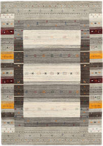 Loribaf Loom Designer - Warm Grey Rug 160X230 Modern Light Grey/Dark Grey (Wool, India)