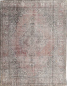 Colored Vintage Rug 290X374 Authentic  Modern Handknotted Light Grey/Dark Grey Large (Wool, Pakistan)