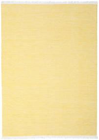 Diamond Wool - Yellow Rug 210X290 Authentic  Modern Handwoven Yellow/Beige (Wool, India)