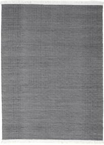 Diamond Wool - Black Rug 210X290 Authentic  Modern Handwoven Dark Grey/Light Grey (Wool, India)