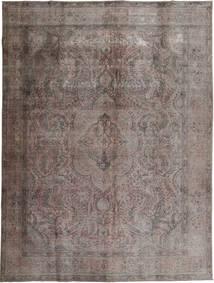 Colored Vintage Rug 294X384 Authentic  Modern Handknotted Dark Grey/Dark Brown Large (Wool, Pakistan)