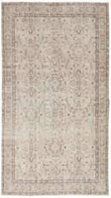 Colored Vintage Rug 112X202 Authentic  Modern Handknotted Light Grey (Wool, Turkey)