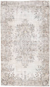 Colored Vintage Rug 122X214 Authentic  Modern Handknotted Light Grey/White/Creme (Wool, Turkey)