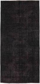Colored Vintage Rug 140X297 Authentic  Modern Handknotted Hallway Runner  Dark Blue (Wool, Turkey)