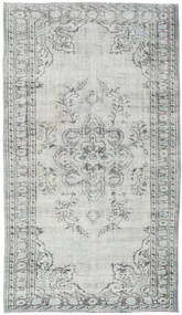 Colored Vintage Rug 150X265 Authentic  Modern Handknotted Light Grey/Light Green (Wool, Turkey)