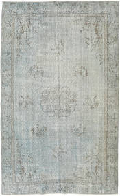 Colored Vintage Rug 154X251 Authentic  Modern Handknotted Light Grey/Light Green (Wool, Turkey)