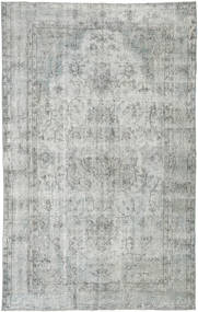 Colored Vintage Rug 165X265 Authentic  Modern Handknotted Light Grey/Turquoise Blue (Wool, Turkey)