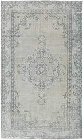 Colored Vintage Rug 173X294 Authentic  Modern Handknotted Light Grey/Light Green (Wool, Turkey)