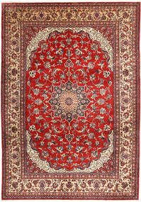 Najafabad Rug 266X390 Authentic  Oriental Handknotted Dark Red/Rust Red Large (Wool, Persia/Iran)