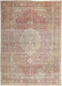 Colored Vintage Rug 284X400 Authentic  Modern Handknotted Light Grey/Brown Large (Wool, Persia/Iran)