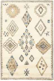Berber Indo - Off White/Beige Rug 120X180 Authentic  Modern Handknotted Yellow/Light Brown (Wool, India)