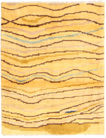 Gabbeh Persia Rug 81X109 Authentic  Modern Handknotted Yellow/Light Brown (Wool, Persia/Iran)