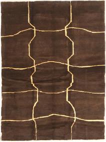 Gabbeh Persia Rug 153X208 Authentic  Modern Handknotted Dark Brown/Brown (Wool, Persia/Iran)