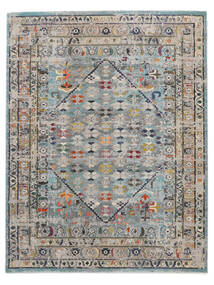 Chillon - Light Blue/Multi Rug 240X300 Modern Dark Grey/Light Grey ( Turkey)