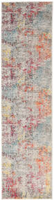 Monet - Multi Rug 80X300 Modern Hallway Runner  Light Grey/Beige ( Turkey)