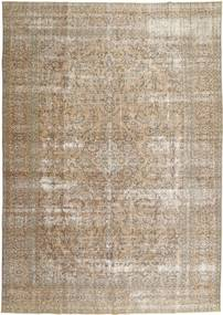 Colored Vintage Rug 278X384 Authentic  Modern Handknotted Light Grey/Light Brown Large (Wool, Persia/Iran)