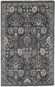 Zanjan - Dark Grey Rug 100X160 Modern Dark Grey/Light Grey ( Turkey)