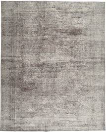 Colored Vintage Rug 285X355 Authentic  Modern Handknotted Light Grey/Dark Grey Large (Wool, Persia/Iran)