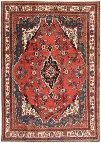 Hamadan Patina Rug 207X297 Authentic Oriental Handknotted Dark Brown/Dark Red (Wool, Persia/Iran)